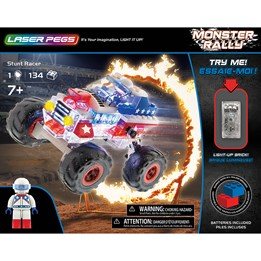 Laser Pegs, Monster Rally Baja Racer 134 deler