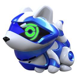 Teksta Micro-Pets, Blå vaskebjørn