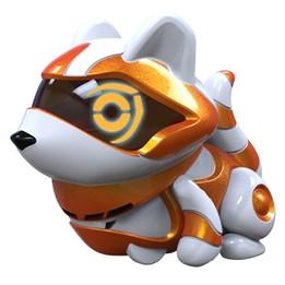 Teksta Micro-Pets, Oransje vaskebjørn