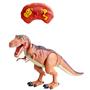 Dino vs World, Radio, kontrollert dinosaur med lysebrun