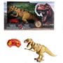 Dino vs World, Radio, styrt dinosaur med lys, lysebrun