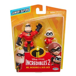 Incredibles 2, Mr. Incredible & Jack 8 cm