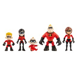 Incredibles 2, Figursett 5-pack