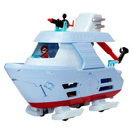 Incredibles 2, Hydrofoil båt sett