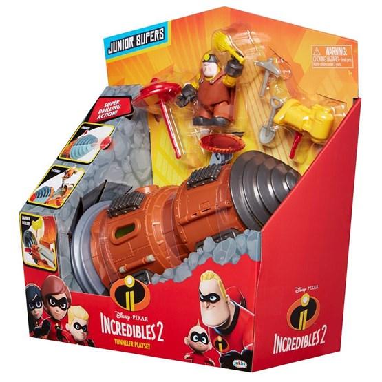 Incredibles 2, Underminer kjøretøy