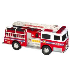 Brannbil med lyd og lys 34 cm