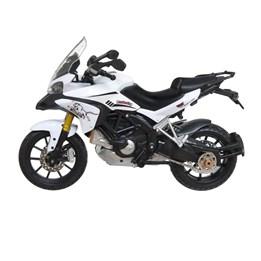 Ducati MC i metall 16 cm - Hvit