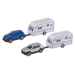 TZ - Bil med campingvogn 25 cm