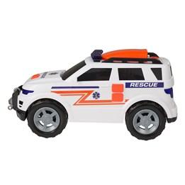 TZ - Ambulansejeep MEGA m lys og lyd, 36 cm