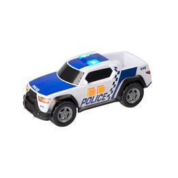 Teamsterz, Politibil pickup 15 cm med lyd og lys