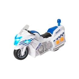 Teamsterz, Politimotorsykkel 15 cm med lyd og lys