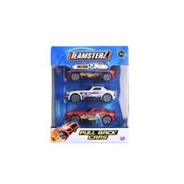 Teamsterz, Tre sportsbiler med pullback motor