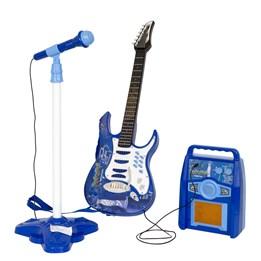 Stage - Gitar med forsterker og mikrofon