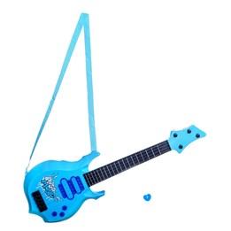 Stage - Elektrisk gitar i plast, blå, 55 cm