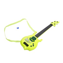 Stage - Elektrisk gitar i plast, grønn, 55 cm