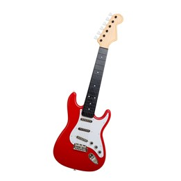 Stage - Elgitar med lyd, rød