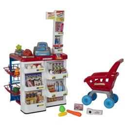 PAP - Supermarked kasse og vogn