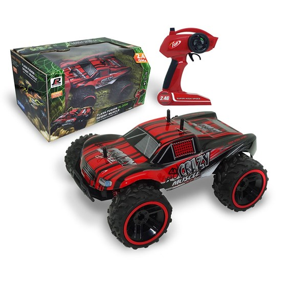 FUSHION - Radiostyrt Buggy cross 1:16