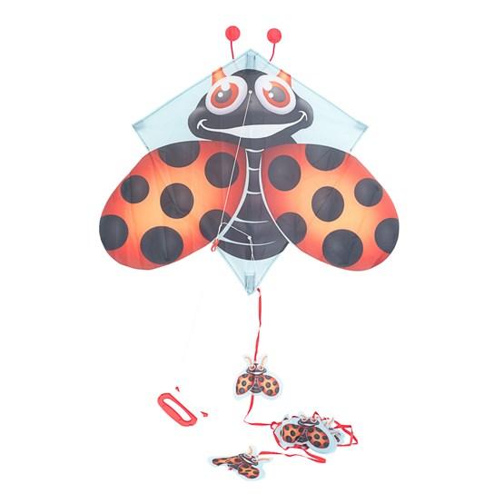 Pop-Up Kites, Flydrage - Marihøne 70 cm