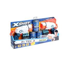 Xshot, TEK 3 - Doble pistoler med bokser