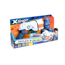Xshot, Reflex 6 - Dart pistol med bokser