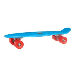 Skills on Wheels, Skateboard 45 cm - blå