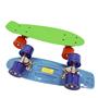 Skills, Skateboard 45 cm - blå