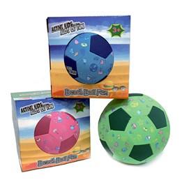 Beachball volley/fotball - grønn