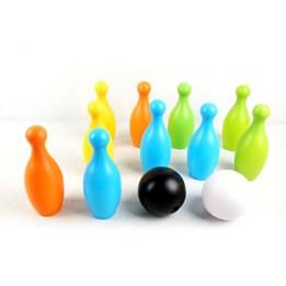 Bowlingspill 10 kjegler 2 kuler