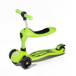 Twix scooter med sete - Grønn