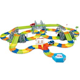 Clixtracks, Bilbane med 240 deler og 2 biler