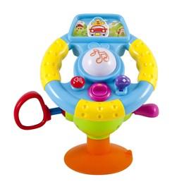 KID - Bilratt med sugekopp, lyd og lys
