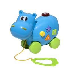 KID - Dyr på hjul med lys og lyd - flodhest