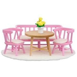 Lundby, Rosa Kjøkkenmøbler