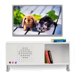 Lundby, Stereomøbel + Tv sett