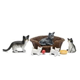 Lundby, Kattefamilie