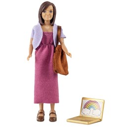 Lundby, Mamma med laptop+ bag