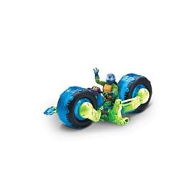 Ninja Turtles - Motorsykkel og Donatello