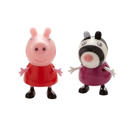 Peppa Gris, Twin Pack - Peppa & Zoe