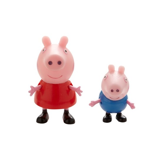 Peppa Gris, Twin Pack - Peppa & Georg