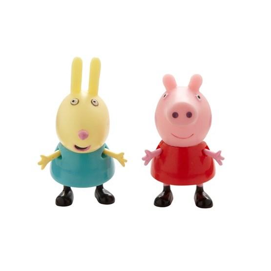 Peppa Gris, Twin Pack - Peppa & Rebecka