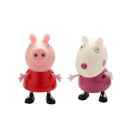 Peppa Gris, Twin Pack - Peppa & Suzy