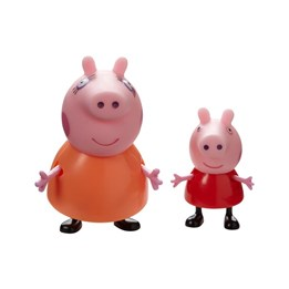 PEPPA Gris, Twin Pack Mummy Pig