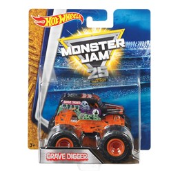 Hot Wheels, Monster Jam - Grave Digger Or 1:64