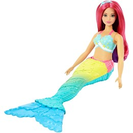 Barbie, Dreamtopia havfrue - Rainbow Ombre Cove