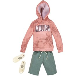 Barbie, Ken Fashion - Malibu Hoodie & Green Shorts