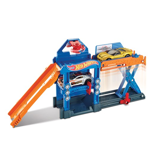 Hot Wheels, Fold out Playset - Robo-Lift Speed Shop