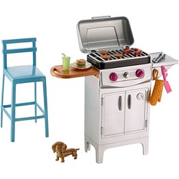 Barbie, Outdoor Furniture - BBQ Grill