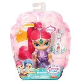 Shimmer & Shine, Basic Doll 15 cm - Shimmer