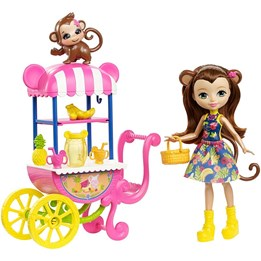 Enchantimals, Fruit Cart Doll Set
